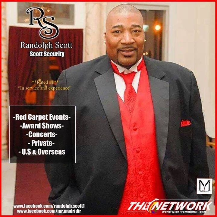Randolph Scott (Professional Bodyguard)
